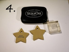 Stamping on clay stars